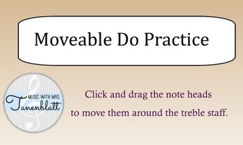 Moveable Do Pracitce - SmartNotebook FREEBIE