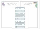 Moveable Homeschool Schedule