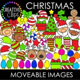 Moveable Images: CHRISTMAS {Creative Clips Clipart}