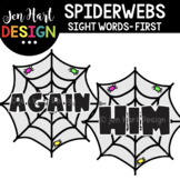 Moveable Images Clipart - Spiderwebs Sight Words First {Je