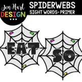 Moveable Images Clipart - Spiderwebs Sight Words Primer {J