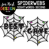 Moveable Images Clipart - Spiderwebs Sight Words Second {J