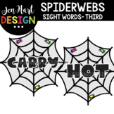 Moveable Images Clipart - Spiderwebs Sight Words Third {Je