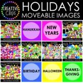 Moveable Images: HOLIDAY MEGA BUNDLE (12 Moveable Image Sets)