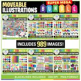 Moveable Images SUPER MEGA Bundle - 989 Images!