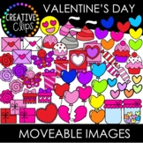 Moveable Images: VALENTINE'S DAY {Creative Clips Clipart}