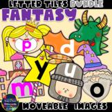 Moveable LETTERS: FANTASY BUNDLE (English & Spanish)