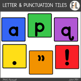 Moveable Letter & Punctuation Tiles:  PRIMARY COLORS