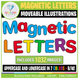 Moveable Magnetic Letters Clipart -  756 Images!