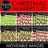 Moveable Christmas Numbers Bundle (6 Moveable Image Sets)