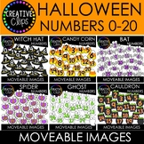 Moveable Numbers: HALLOWEEN Bundle (6 Moveable Image Sets)