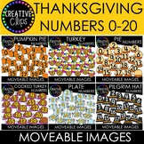 Moveable Numbers: THANKSGIVING Bundle (6 Moveable Image Sets)