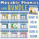 Digital Phonics Activities Growing Bundle for Google Slide