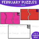 Moveable Piece Clip Art -February Puzzles Pieces {jen hart Clip Art}