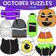 Moveable Piece Clip Art -Monthly Puzzles BUNDLE {jen hart Clip Art}