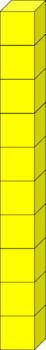 Moveable Pieces Base Ten Blocks Clipart