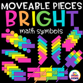Moveable Pieces Math Symbols Clipart