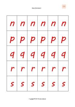 Moveable alphabet Montessori /   Alfabeto móvil Montessori /