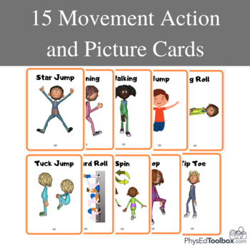 Movement Action and Picture Cards
