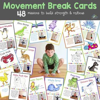 Movement Break Cards