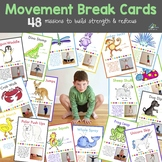 Movement Cards (Distance Learning)