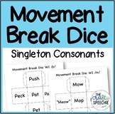 Movement Break Dice: A Low-Prep Articulation Activity for
