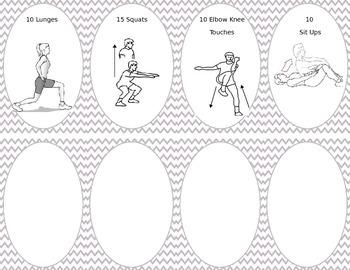 Movement Break Task Cards