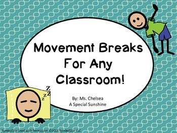 Movement Breaks: Autism, Special Education, Elementary