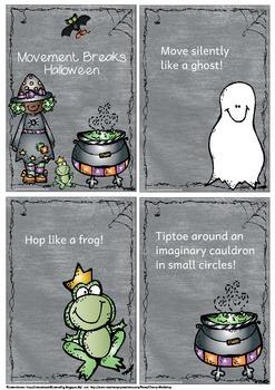 Movement Breaks Halloween