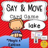 Movement Card Game for Magic e Words