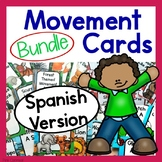 Movement Cards Bundle - Spanish