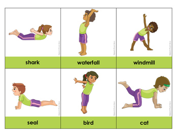 Movement Cards: Yoga & Sensory Break Visuals