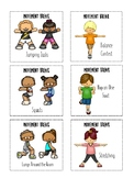 Movement Cards for Wiggly Students