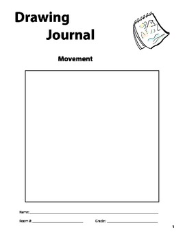 """Movement"" Drawing Journal"