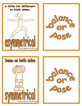 Movement Flash Cards Balances and Poses