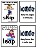 Movement Flash Cards Locomotor