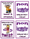 Movement Flash Cards Non Locomotor