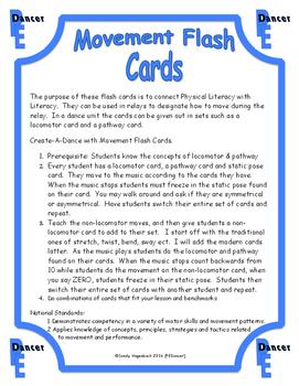 Movement Flash Cards Pathways
