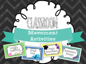 Movement Game Pack - Physical Activity and Motor Development