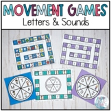 Movement Games: Letters & Sounds