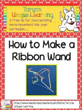 Movement- How to Make a Ribbon Wand