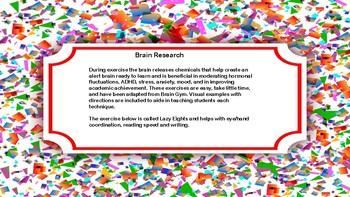 Brain Break Ideas--Movement Ideas to Ignite Learning
