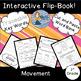 Movement: Interactive Science Flip Book and Pocket Chart Sentence Builder Bundle