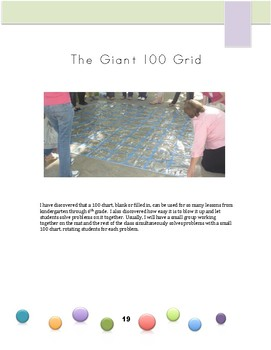 Movement Makes Math Meaningful:  100 grid bundle lessons