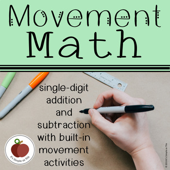 Movement Math - Single-Digit Addition and Subtraction