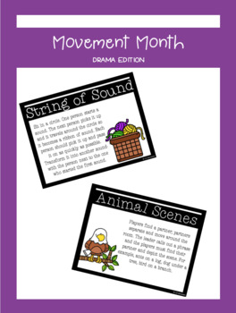 Movement Month - Drama Edition | LCI Movement