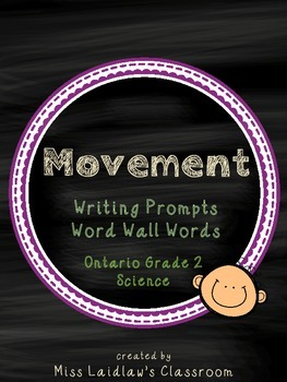 Movement: Ontario Grade 2 Science - Differentiated