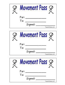Movement Pass