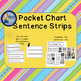 Movement: Sentence Builders Pocket Chart Set