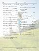 Movement Prepositions Jumbled Words Worksheet